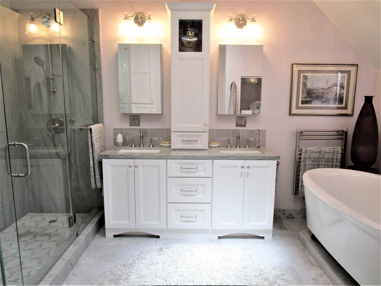 Master Bathroom Remodel (light Adjusted)